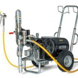 Окрасочное оборудование с гидропоршневым насосом