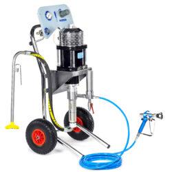 Агрегаты высокого давления c пневмоприводом